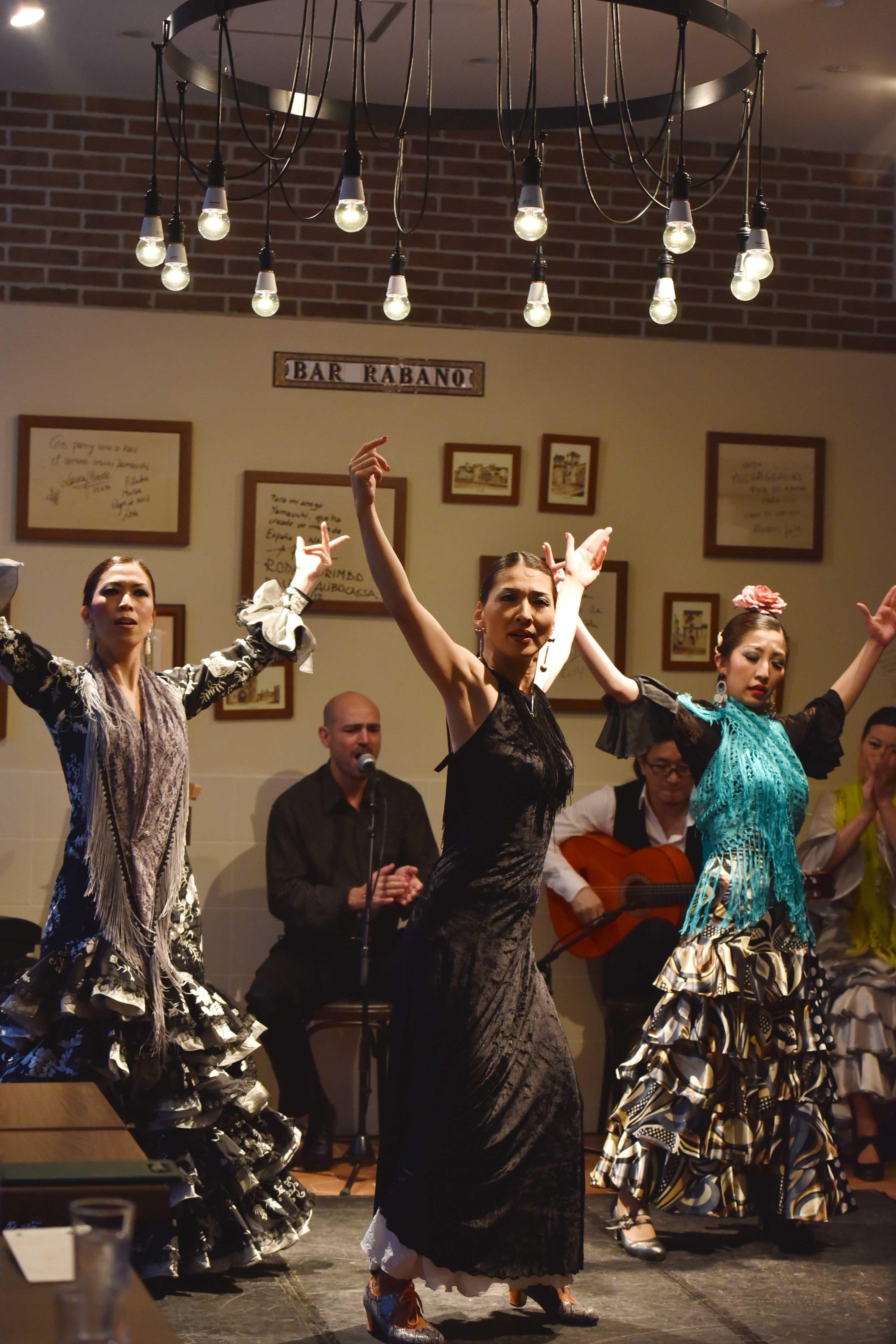 Yasuko Flamenco en La Fuente (2015/4/26)