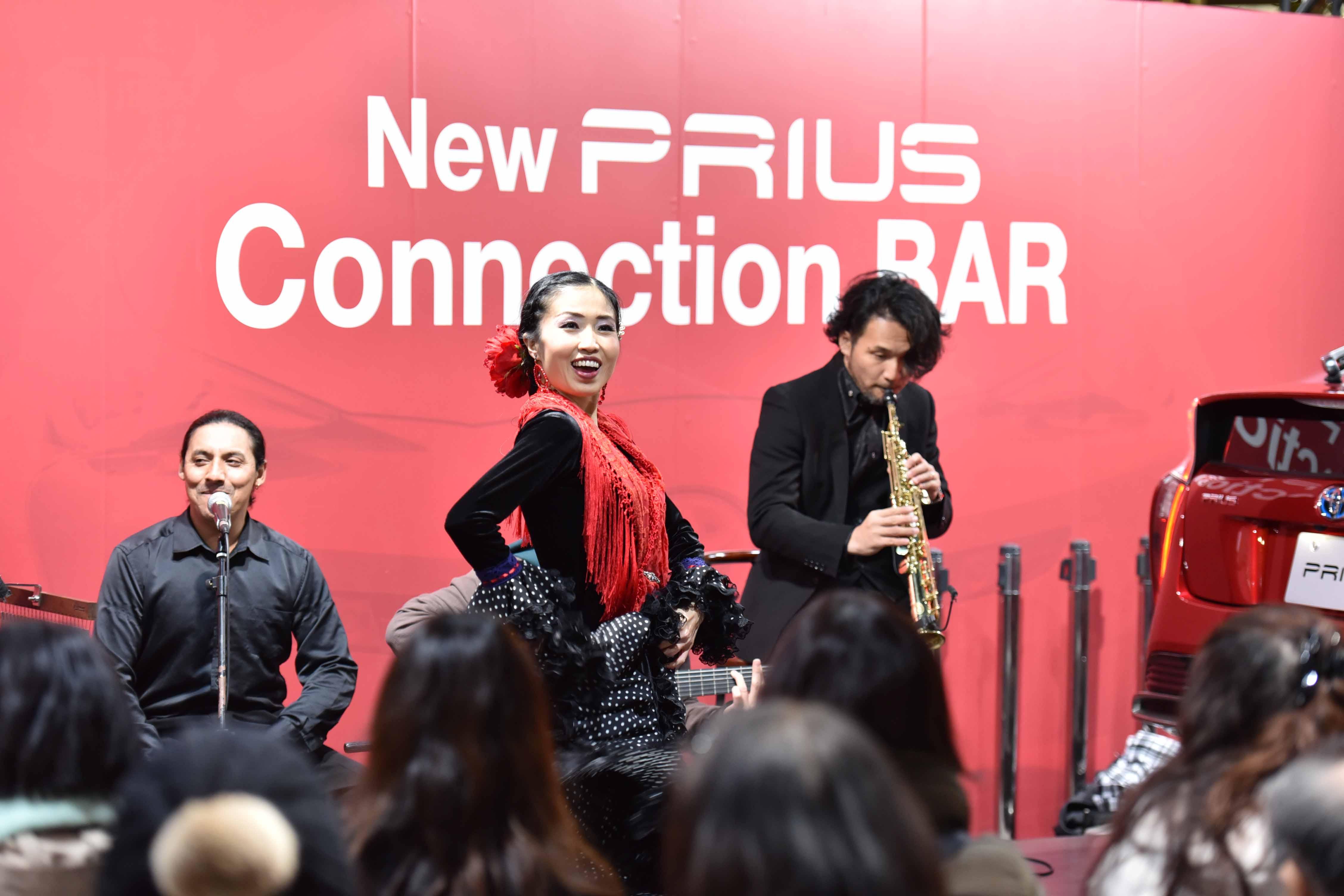TOYOTA新型プリウス発表記念イベント en ミッドランドスクエア