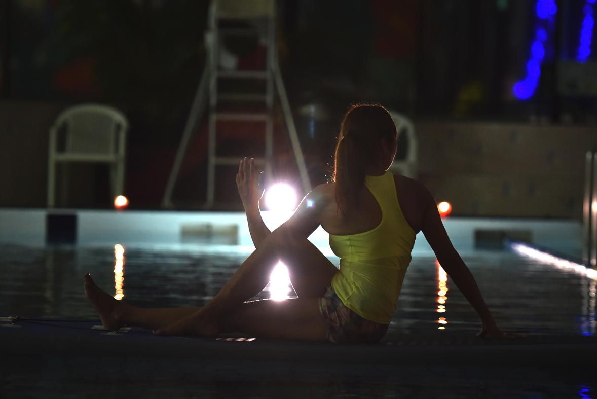 Night Sup Yoga (2016/8/3)