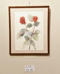 「真紅のバラ」