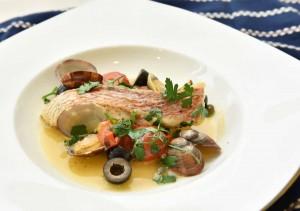 【イタリア】鮮魚のアクアパッツァ