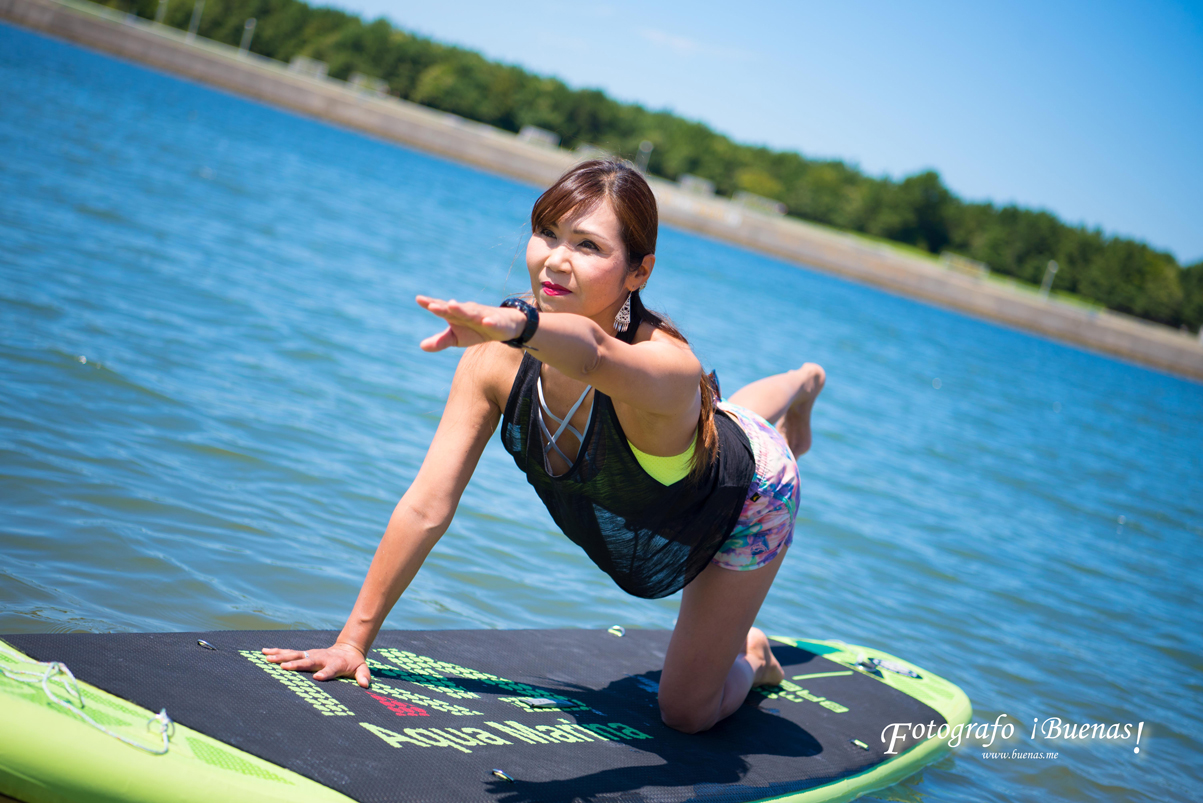 SUP YOGA en Shinmaiko   (2017/9/1)