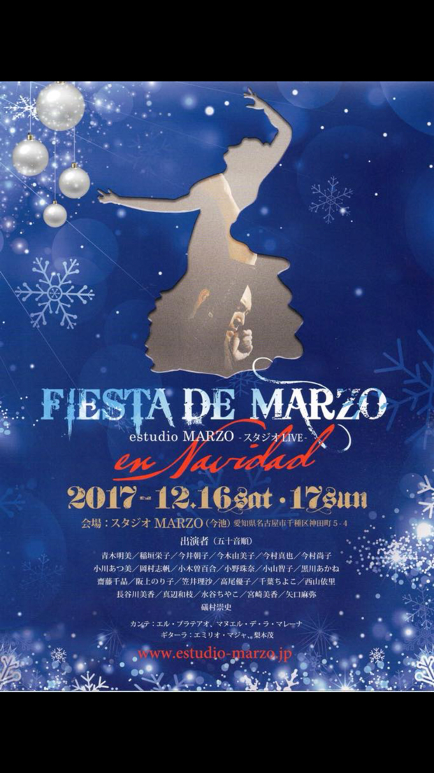 Fiesta de Marzo en Navidad  (2017/12/16.17)