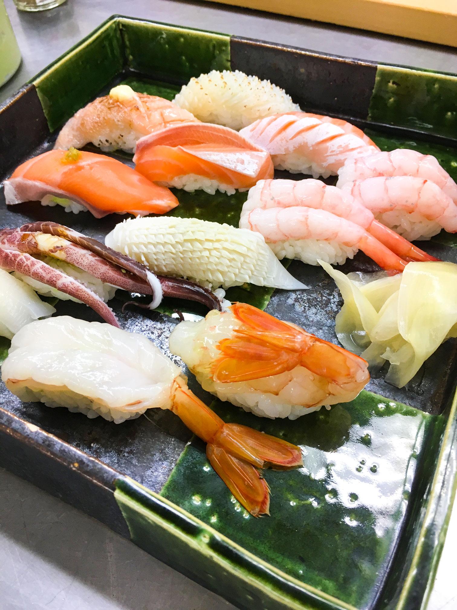 How to make edomae-sushi!