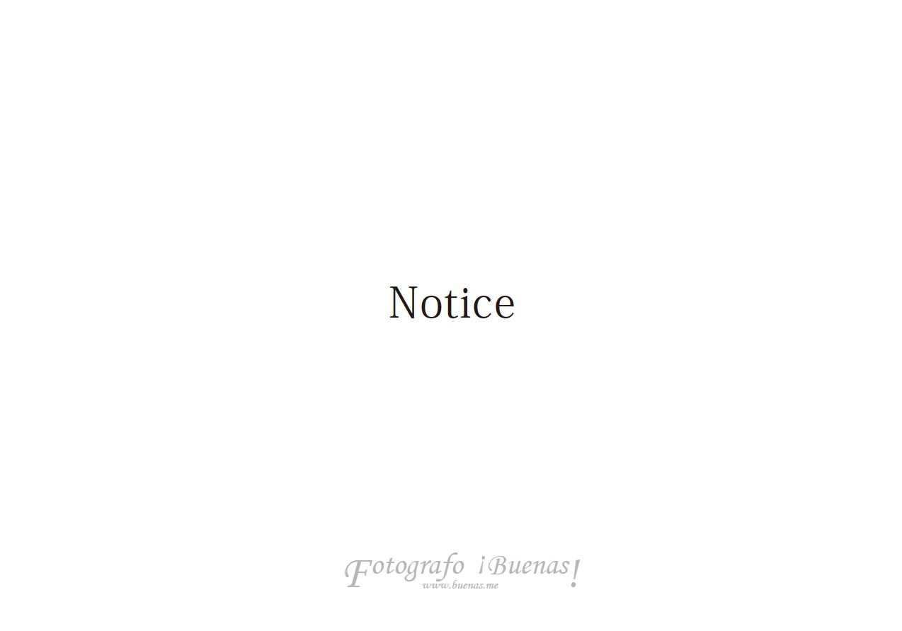 お知らせ/Notice