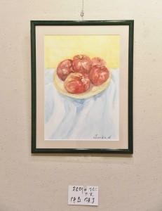 「松川のりんごです。」